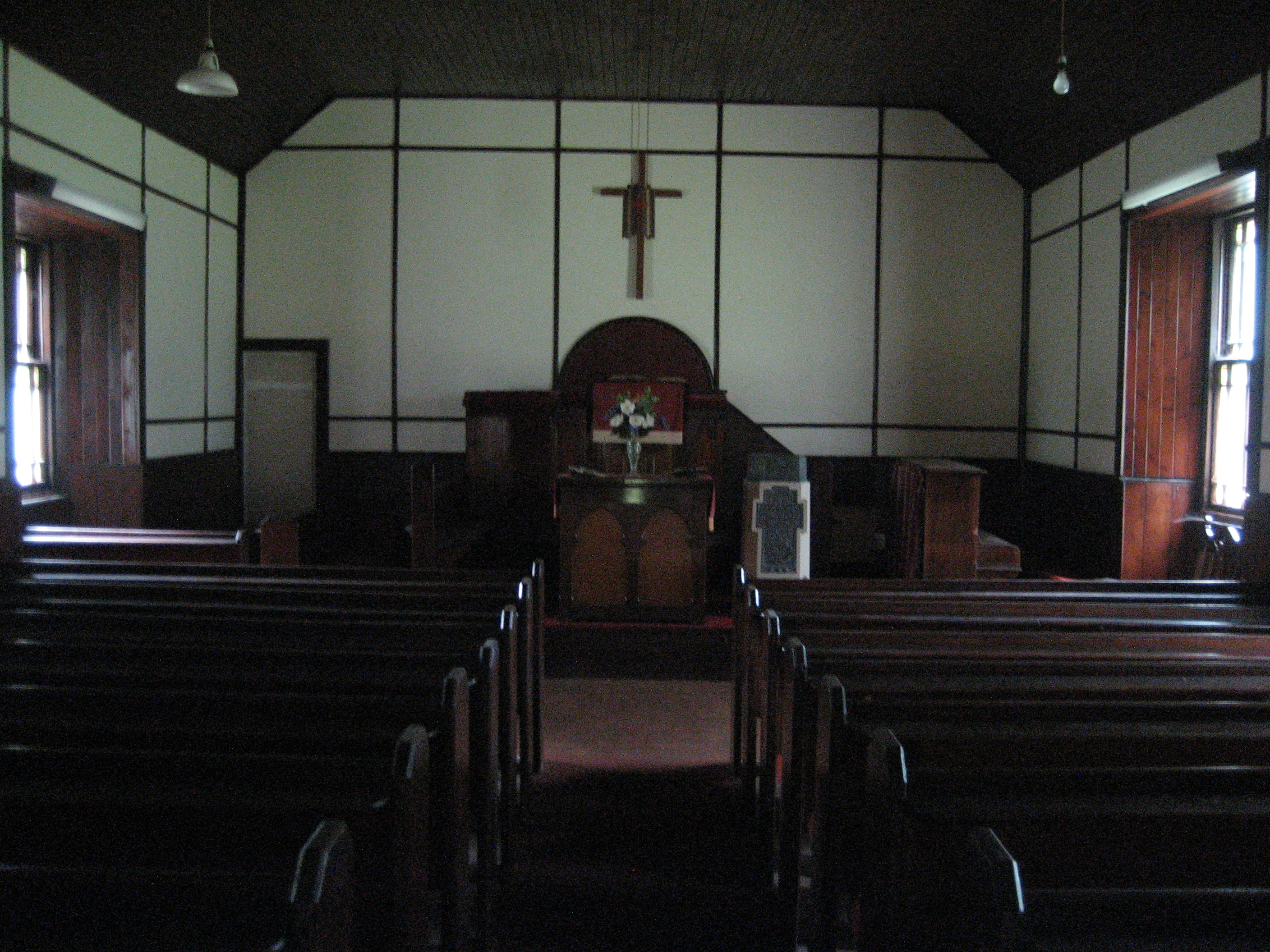 Interior of Sannox Church