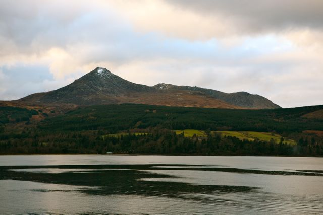 The Hills From Sannox Bay