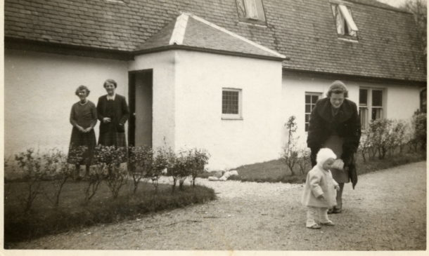 1955 Easter at Sannox