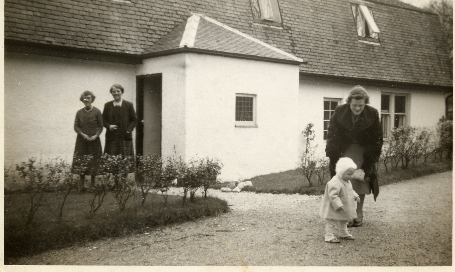 Easter at Sannox 1955